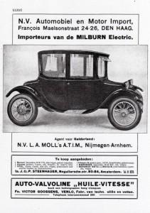 Negentig jaar geleden stopte de verkoop van elektrische auto's