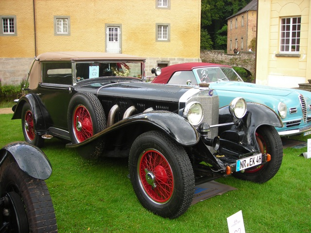 Mercedes-Benz 710 SS open tourer uit 1929