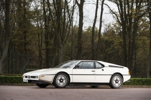 1981 BMW M1, auctioned by Bonhams at 24 June 2016 for £303,900, photo Bonhams